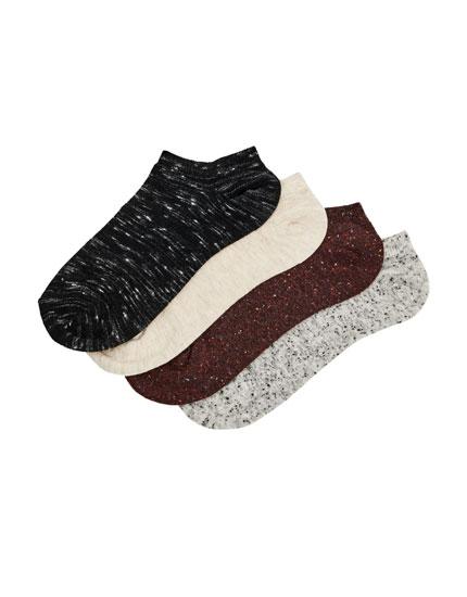 Pack calcetines tobilleros