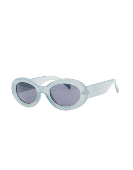 Ovale 60ies-Sonnenbrille