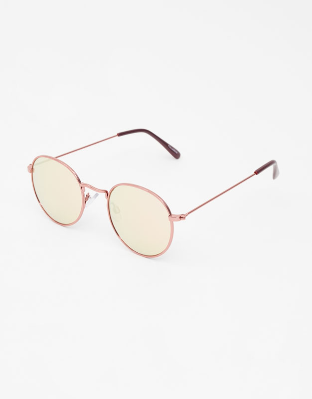 Sunglasses With Mirrored Lenses by Pull & Bear