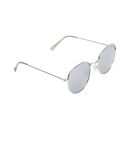 Gafas de sol redondas estilo retro