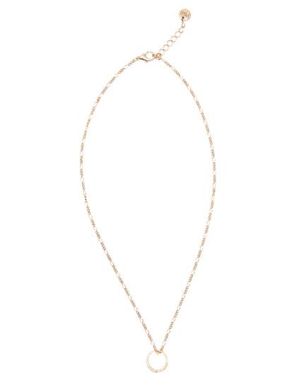Halskette mit Ring
