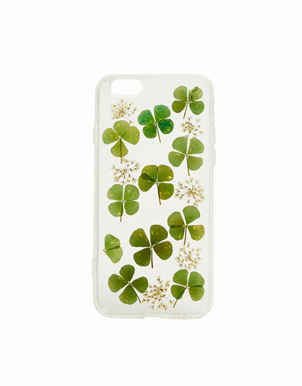 Four-leaf clover mobile phone case