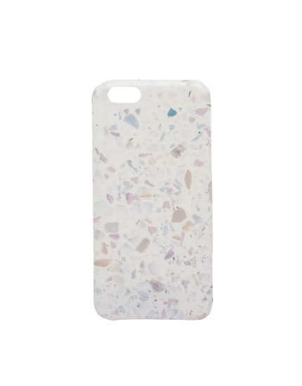Marble flooring print mobile phone case