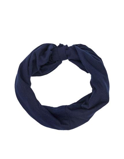 Haarband mit Raffung