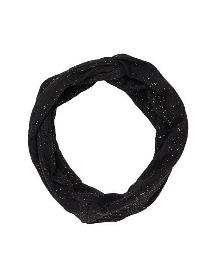 Turban-style headband