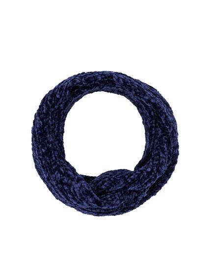 Chenille bandanna