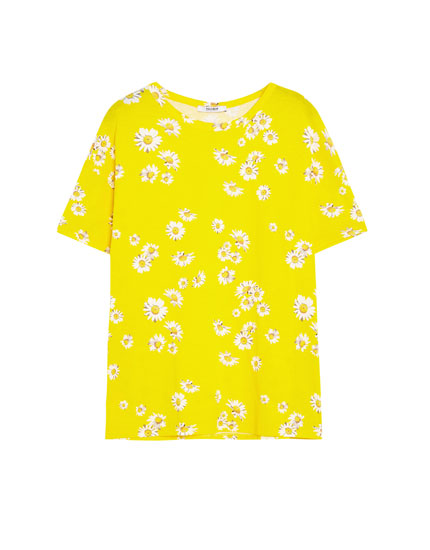 Short sleeve daisy T-shirt