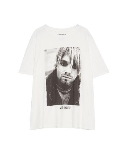 Camiseta Kurt Cobain