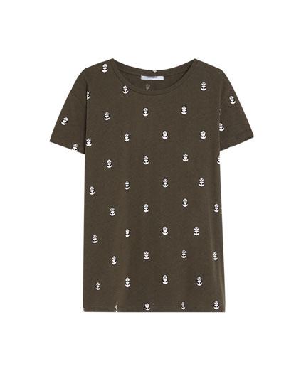 Camiseta print panda