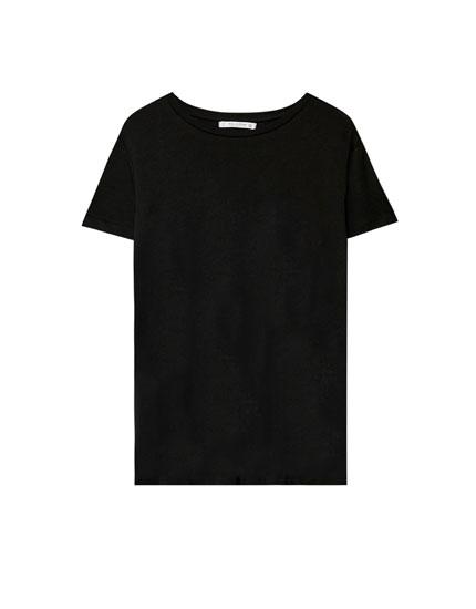 Basic-Shirt mit Rundausschnitt