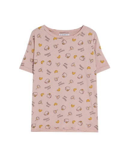 Camiseta manga corta print all over