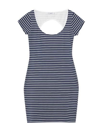 Short sleeve printed dress