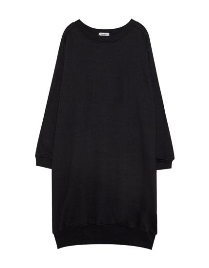 Sweatshirt-style dress