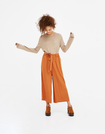 Weicher Basics-Pullover