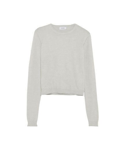 Soft basic sweater