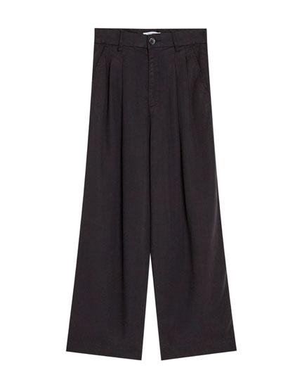 Pantalón tailoring con pinzas