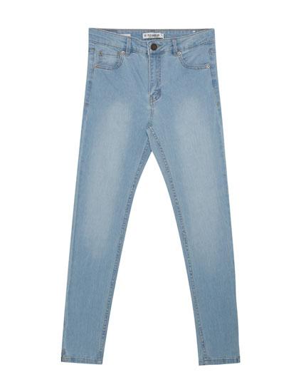 Jean skinny fit capri