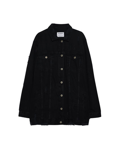 Veste oversize long fit
