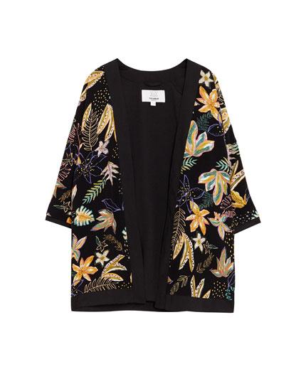 Kimono imprimé
