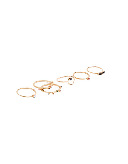 Pack multi anillos