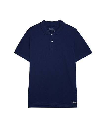 Basic colourful polo shirt