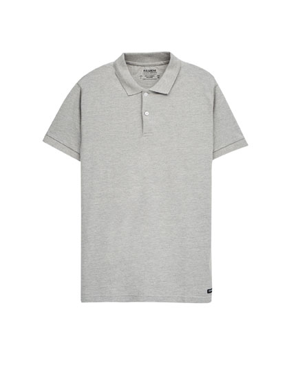 Basic short sleeve polo shirt