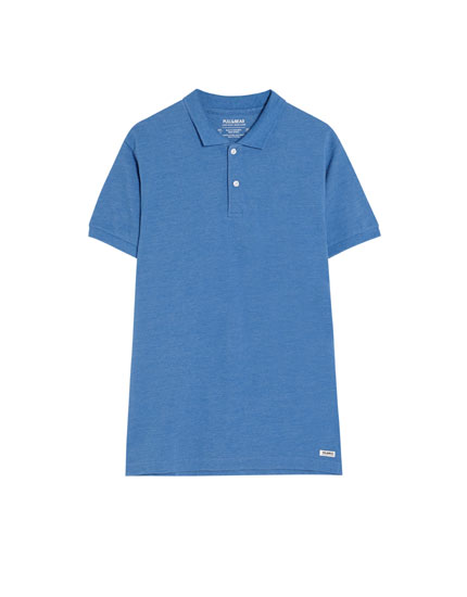 Basic polo med knapper