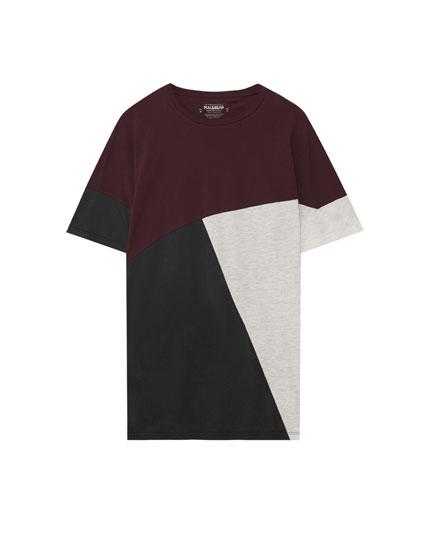 Camiseta bloques