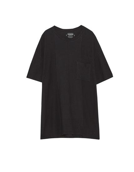 T-krekls no ottoman auduma