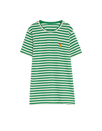 Striped T-shirt in a variety of colours