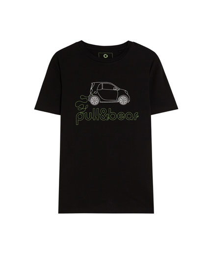 Smart ecologically grown cotton T-shirt with logo