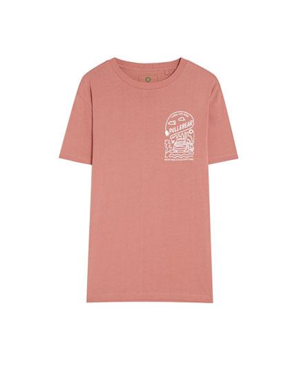 Camiseta smart algodón orgánico coche