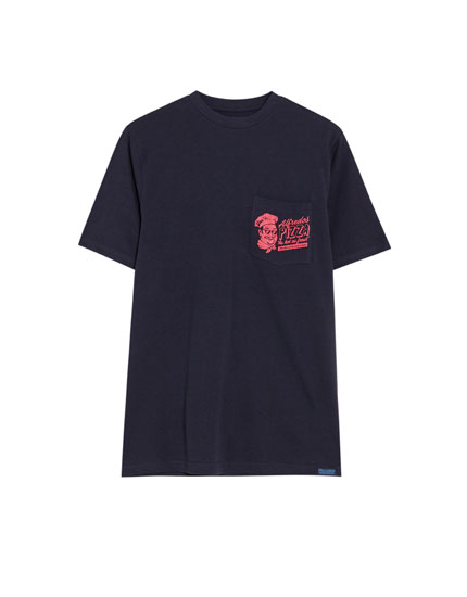 Short sleeve 'Alfredo's Pizza' T-shirt
