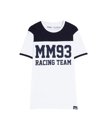 MM93 T-shirt with panel