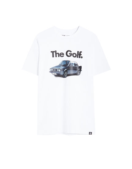 Short sleeve VW Golf Cabriolet T-shirt