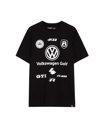 Short sleeve VW multi-logo T-shirt