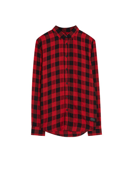 Buffalo check shirt