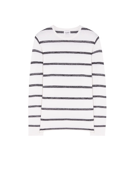 Nautical stripe sweater