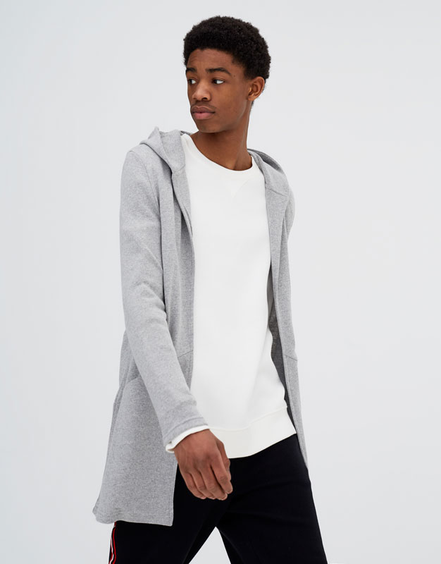 94b3f461c1a hooded-jacket-with-pockets by pull- -bear