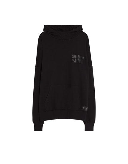 Sweatshirt with side zips