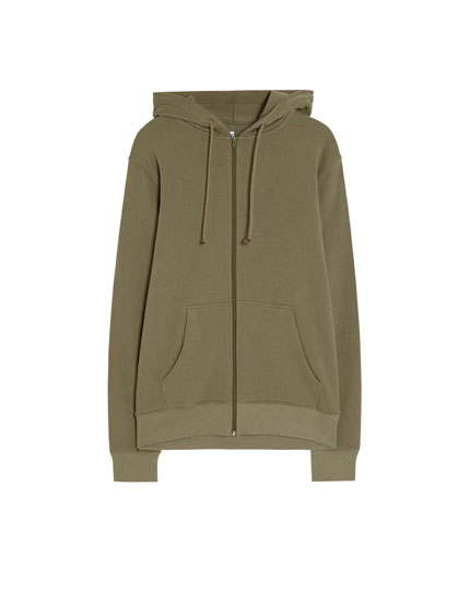 Basic hooded jacket