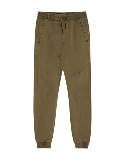 Faded beach trousers