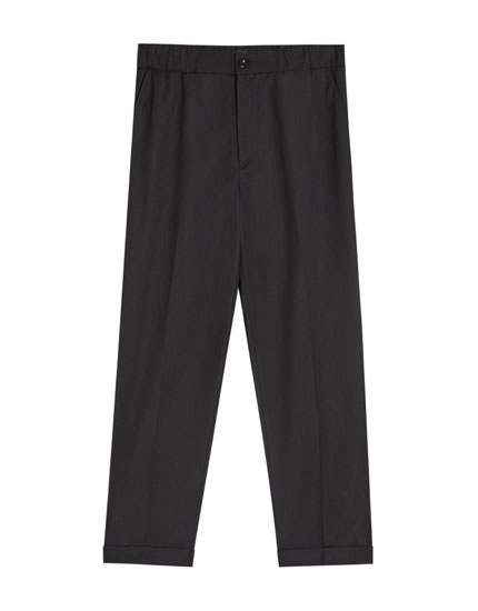 Tailored jogging trousers