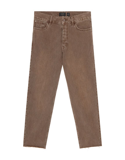 Pantalons carrot cropped