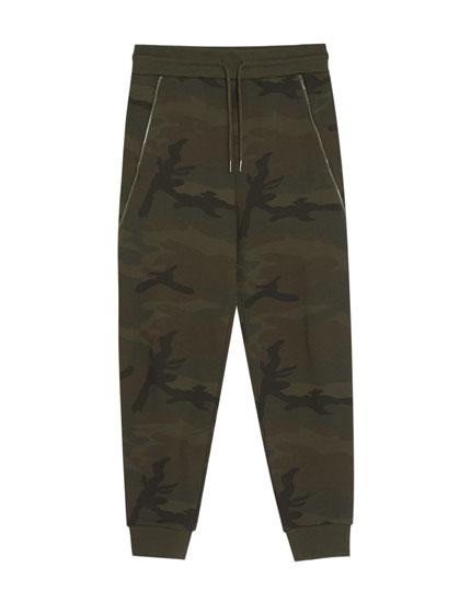 Camouflage-Joggerhose