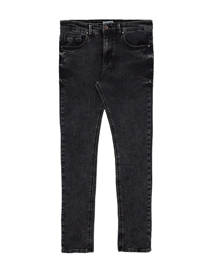 Zwarte superskinny fit jeans