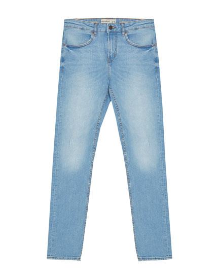 Bequeme Slim-Fit-Jeans Vintage