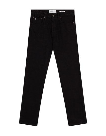 Regular-Fit Jeans in Schwarz