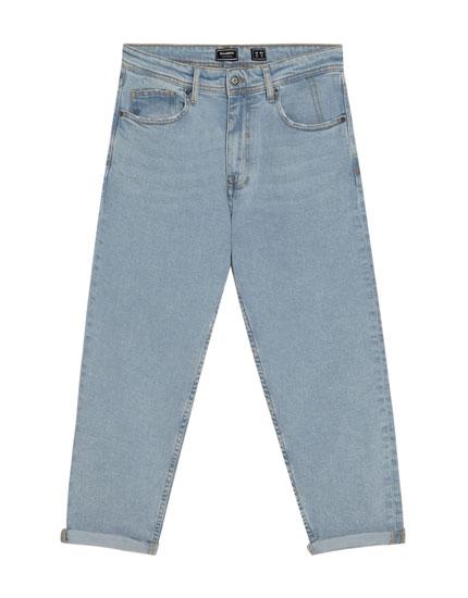 Jeans im Loose-Fit mit Rissen