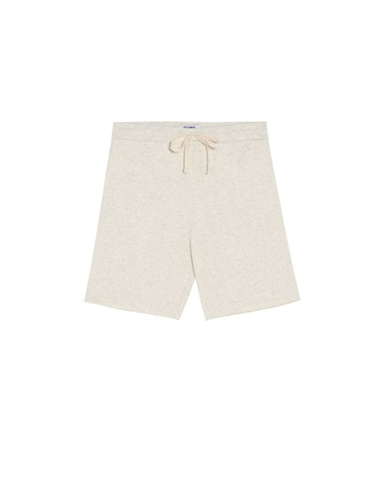 Basic jogging Bermuda shorts